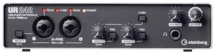 Steinberg UR242 многоканальный аудио-интерфейс 24-бит/192 кГц, USB 2,0