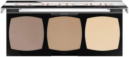 Набор для макияжа CATRICE 3 Steps To Contour Palette 010