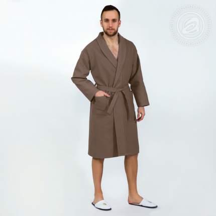 Банный халат АРТ ДИЗАЙН Cyrilla коричневый L-xL