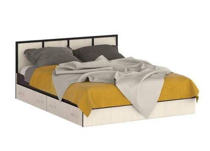 Кровать 1600 СВК Сакура венге/дуб лоредо, 163,5х203,5х80 см