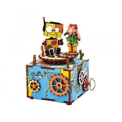 3D деревянный пазл Robotime Музыкальная шкатулка Выступление AM305