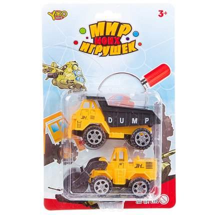 Набор пласт. строит. машины, 2 предмета, CRD 24x16 х5 см, серия Мир Моих Игрушек