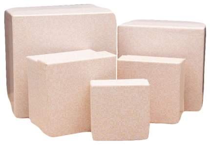 """Набор прямоугольных коробок """"Ваниль"""", 5 штук, арт. ПП-2885"""