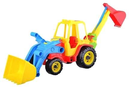 """Машинка """"Трактор"""", с 2 ковшами"""