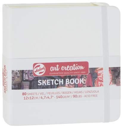 Скетчбук Royal Talens Art Creation 120x120 мм 80 листов Белый