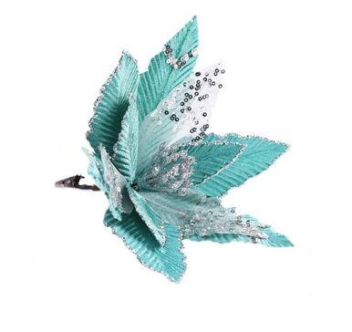 Елочная игрушка Феникс Present цветок, 26х26х21 см