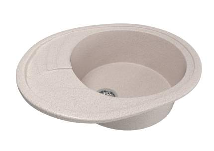 Мойка для кухни мраморная MIXLINE ML-GM17 песочная