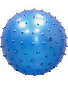 Мяч массажный Shenzhen Toys, синий, 13 см