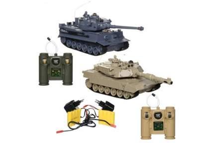 Радиоуправляемый танковый бой ZEGAN M1A2 vs Tiger масштаб 1:28