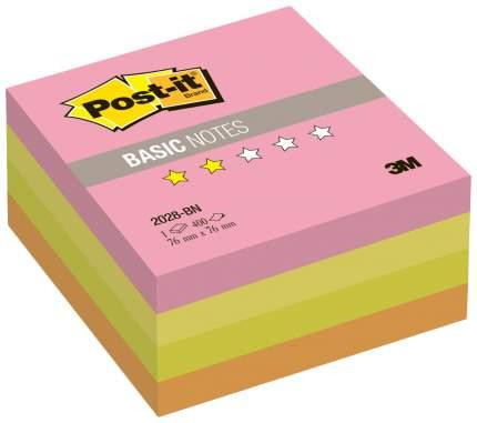 Блок самоклеящийся Post-it Basic 2028-BN 400 шт