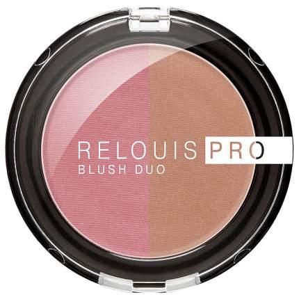 Румяна Relouis Pro Blush Duo 206 6 г
