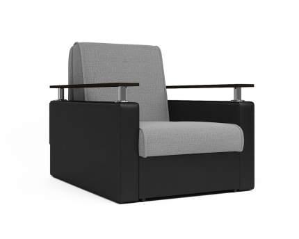 Кресло кровать Шарм черный серый