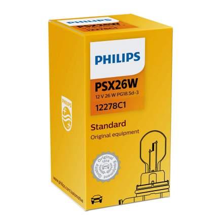Лампа Накаливания Psx26w 12v 26w Pg18.5d-3 Philips арт. 12278C1