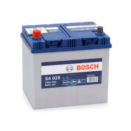 Аккумуляторная Батарея S5 Silver Plus [12v 60ah 540a B00] Bosch