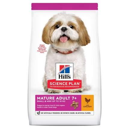 Сухой корм для собак Hill's Science Plan Marute Adult 7+ Small & Mini, курица, 1,5кг