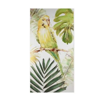 Настенное панно Попугай, 60x3x120cm