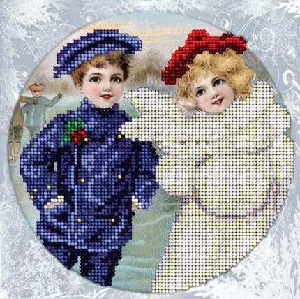 Вышивание ювелирным бисером Краса и творчество 11214 Рождественские истории 10 15,4х15,4см