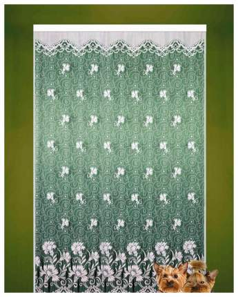 Штора Elegante 2005 250x165 см зеленый