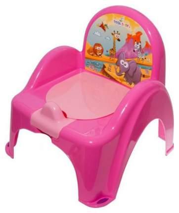 Горшок стульчик Tega Baby Сафари розовый
