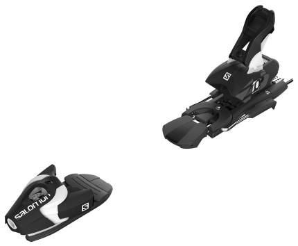 Крепления горнолыжные Salomon Bindings N Z10 2017, черные/белые, 90 мм