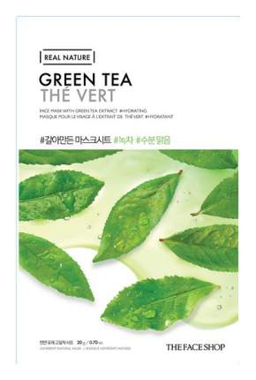 Маска для лица The Face Shop Real Nature Green Tea Face Mask 20 г