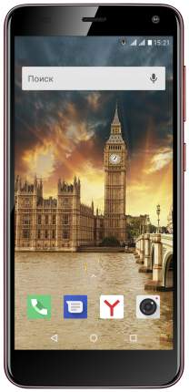 Смартфон Fly Life Compact 8Gb Red