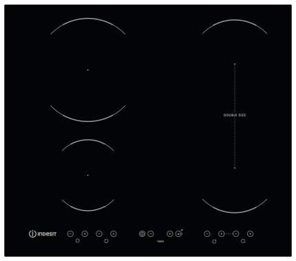 Встраиваемая варочная панель индукционная Indesit VID 641 B C Black