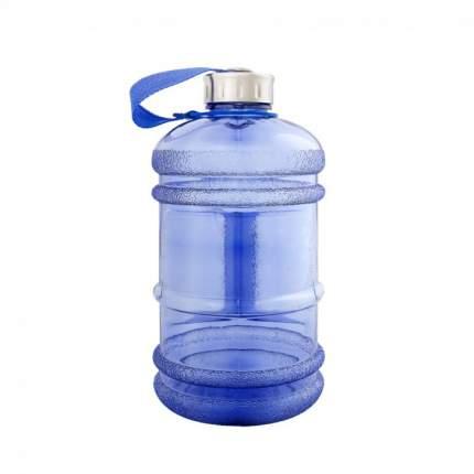 Бутылка для воды Be First без логотипа 2200 мл, синяя