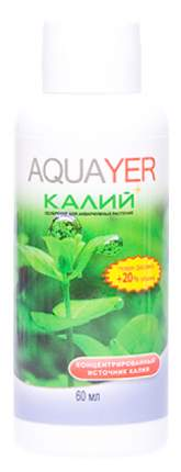 Удобрение для аквариумных растений Aquayer Удо Ермолаева КАЛИЙ+ 60 мл