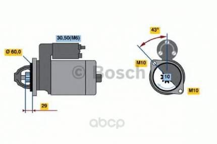 Стартер Bosch 0001107461