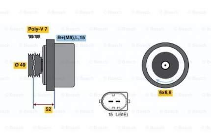 Генератор Bosch 0 986 041 750