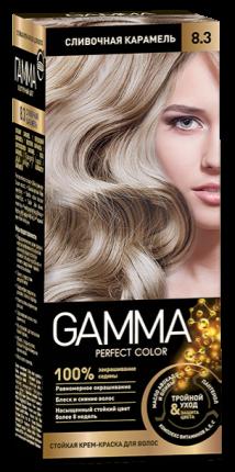 Краска для волос SVOBODA GAMMA Perfect color сливочная карамель 8,3, 50гр