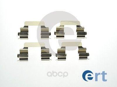 Комплект монтажный тормозных колодок Ert для Citroen c8 02-/Lancia thesis 02-09 420052
