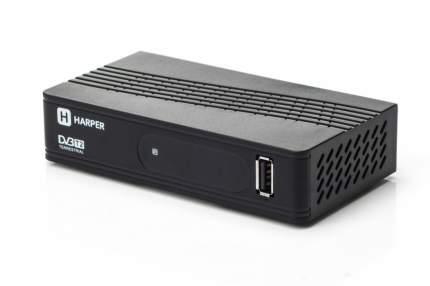 DVB-T2 приставка Harper HDT2-1202 Black