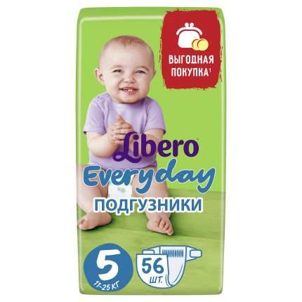 Подгузники Libero Everyday Size 5 (11-25кг), 56 шт.