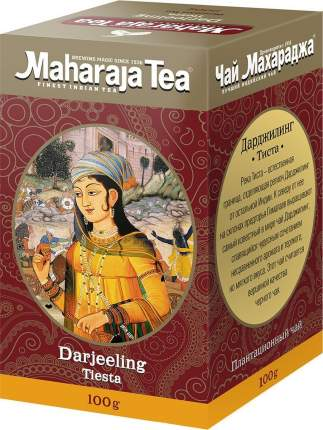 Чай черный Maharaja дарджилинг тиста 100 г