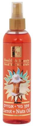 Масло для загара Health & Beauty Морковно-ореховое 250 мл