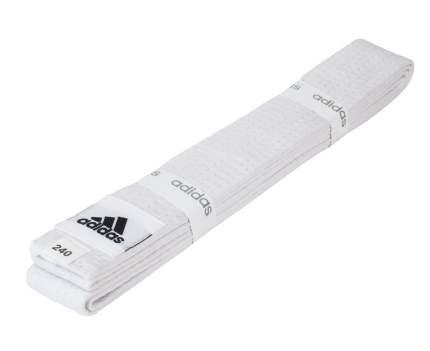 Пояс для единоборств Adidas Club белый, 280 см