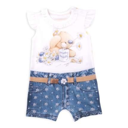 Боди Папитто для девочки Fashion Jeans 544-02 р.22-68