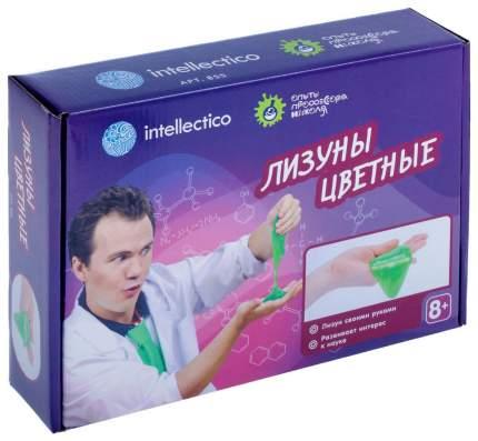 Набор для опытов INTELLECTICO 855 Опыты профессора Николя, Лизуны цветные