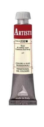 Масляная краска Maimeri 232 кадмий красный темный 20 мл