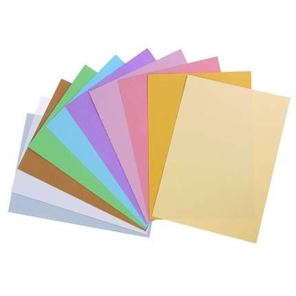 Sadipal Набор цветной бумаги `Мягкие тона` SADIPAL Sirio, 170г/м2, 21х29.7см, 10 цветов