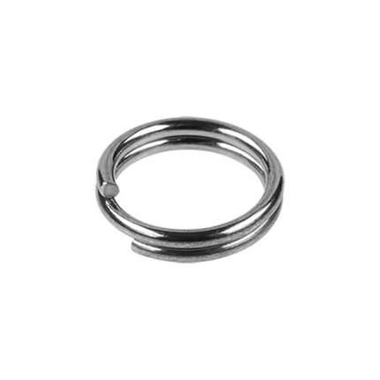 Заводные кольца Sprut SR-01 SN Split Ring Silver Nickel №4, тест 4 кг