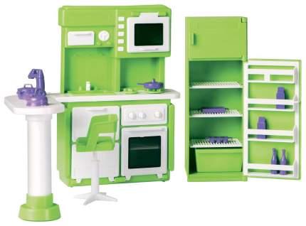 Мебель для кукол Огонек Кухня Конфетти