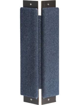 Гамма Когтеточка-доска угловая, в ассортименте, ковролин, Gamma 57*22*3 см