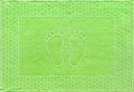 """Полотенце махровое """"Ножки"""" (салатовое) 48х70"""