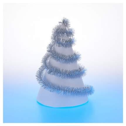 Аксессуар для Нового года Snowmen Ежик А4033Д Серебристый