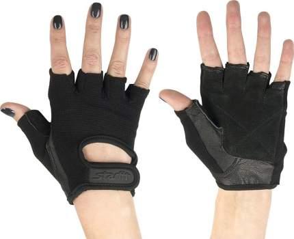 Перчатки для фитнеса StarFit SU-114, черные, 7
