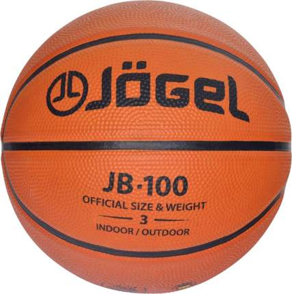 Баскетбольный мяч Jogel JB-100 №3 brown