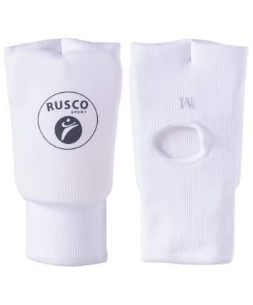 Накладки на кисть Rusco Sport, хлопок, белый (S)